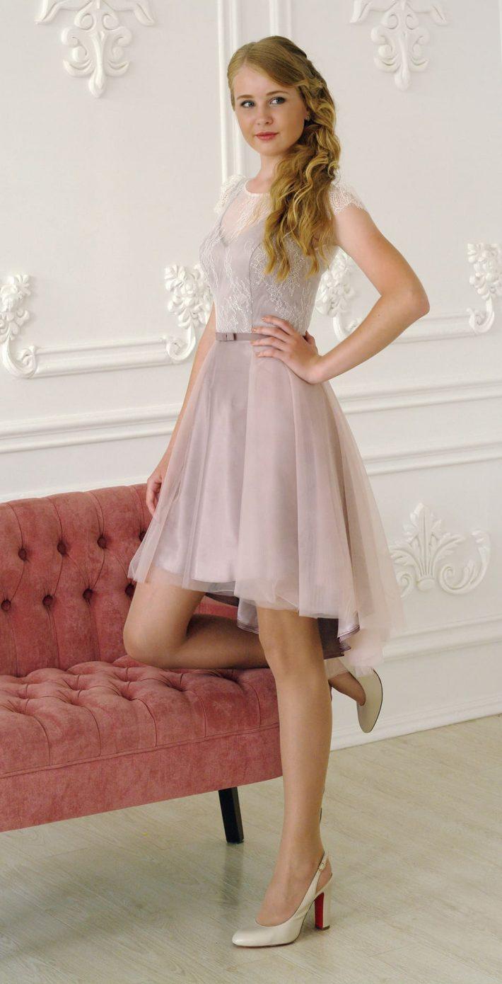 Вечернее платье Беатриче мини