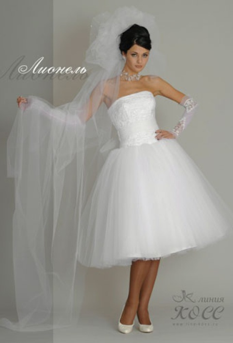 Свадебное платье Лионель короткое