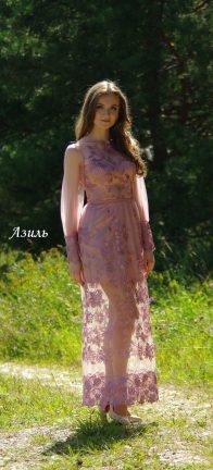 Вечернее платье Азиль