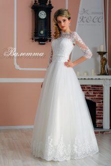 Свадебное платье Валетта А-силуэта