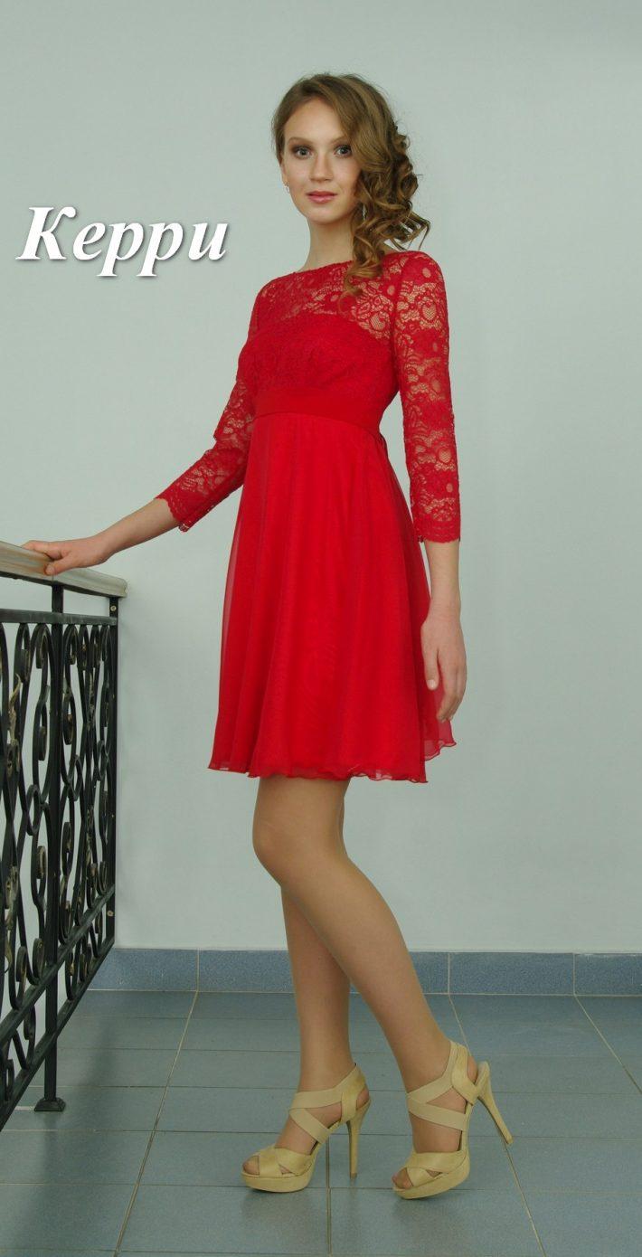 Вечернее платье Керри мини