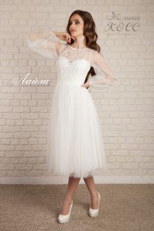 Свадебное платье Лайза А-силуэта