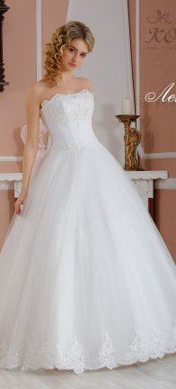 Свадебное платье Лейла кружевное