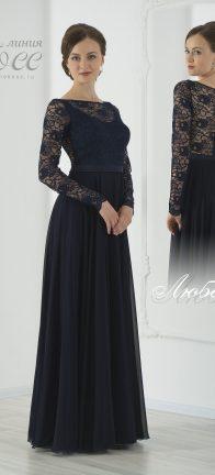 Вечернее платье Любава макси