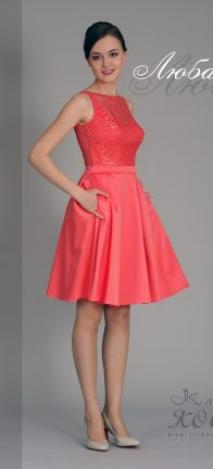 Вечернее платье Любава мини