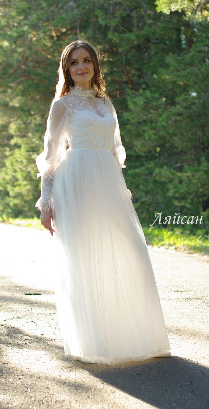 Свадебное платье Ляйсан