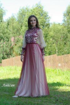 Вечернее платье Ляйсан макси