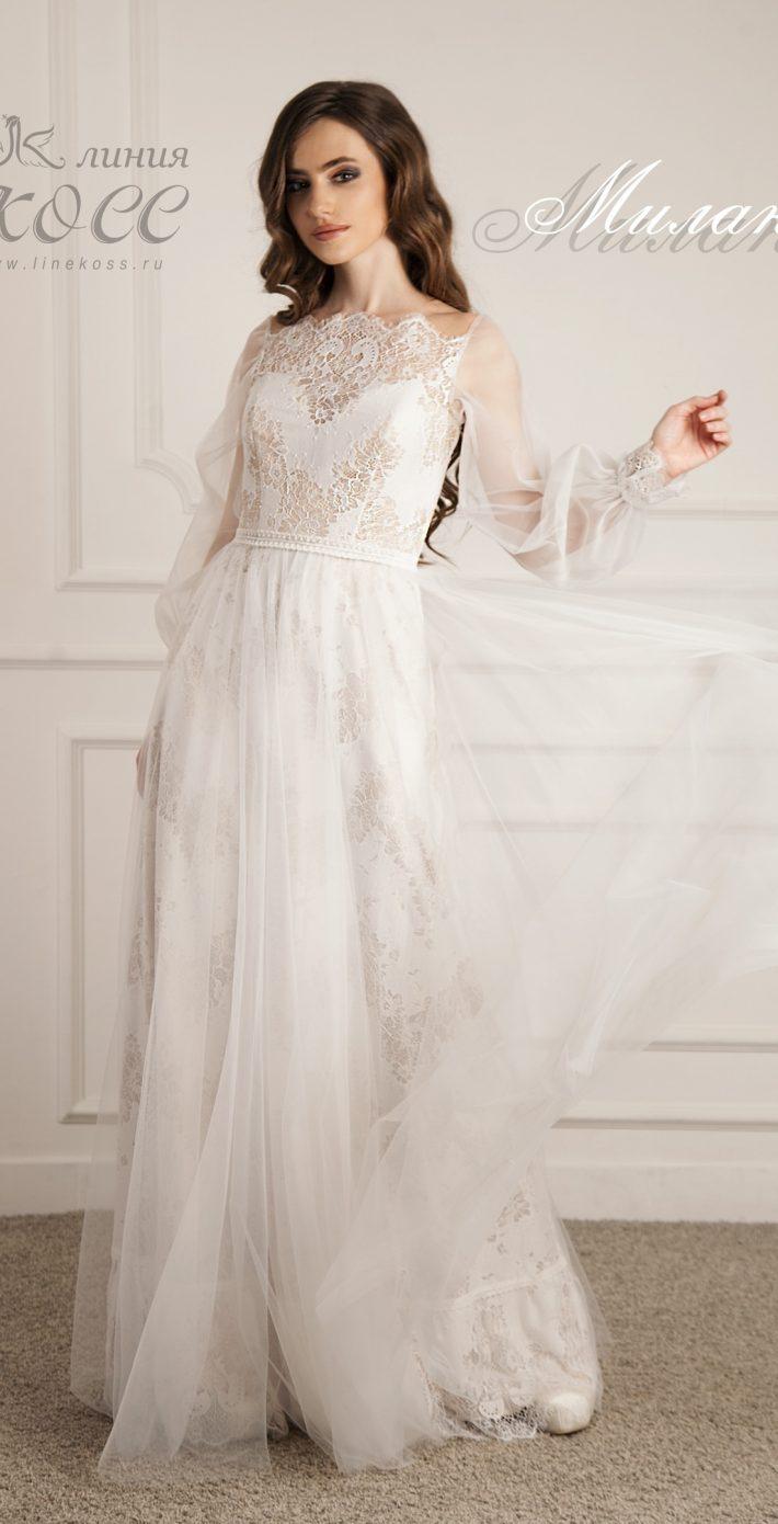 Свадебное платье Милана