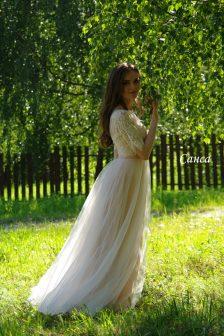 Вечернее платье Санса