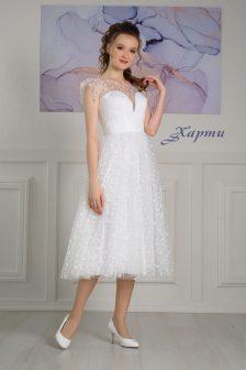 Свадебное платье Харти миди
