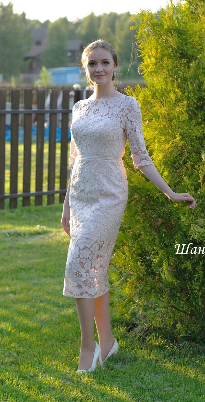 Вечернее платье Шанель