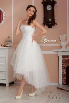 Свадебное платье Эрика миди