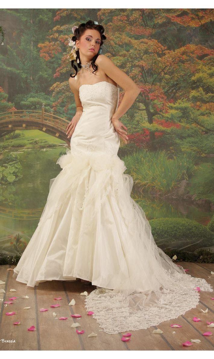 Свадебное платье Брассия