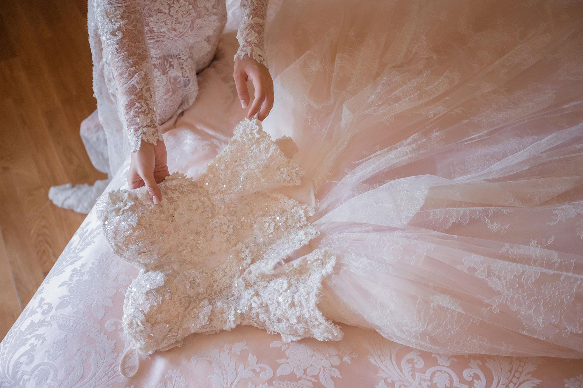 Дорогое свадебное платье: за и против.