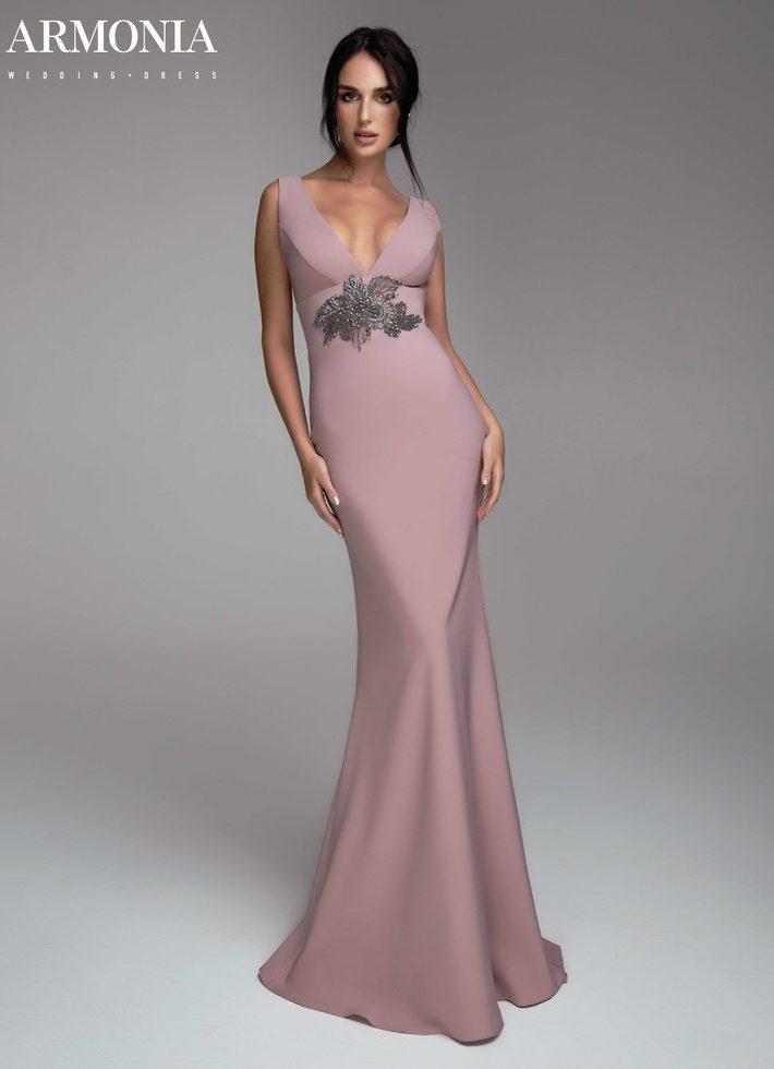 Вечернее платье MINIMAL 006