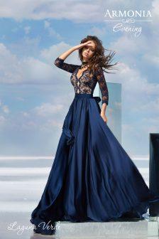 Вечернее платье ЛАГУНА-ВЕРДЕ