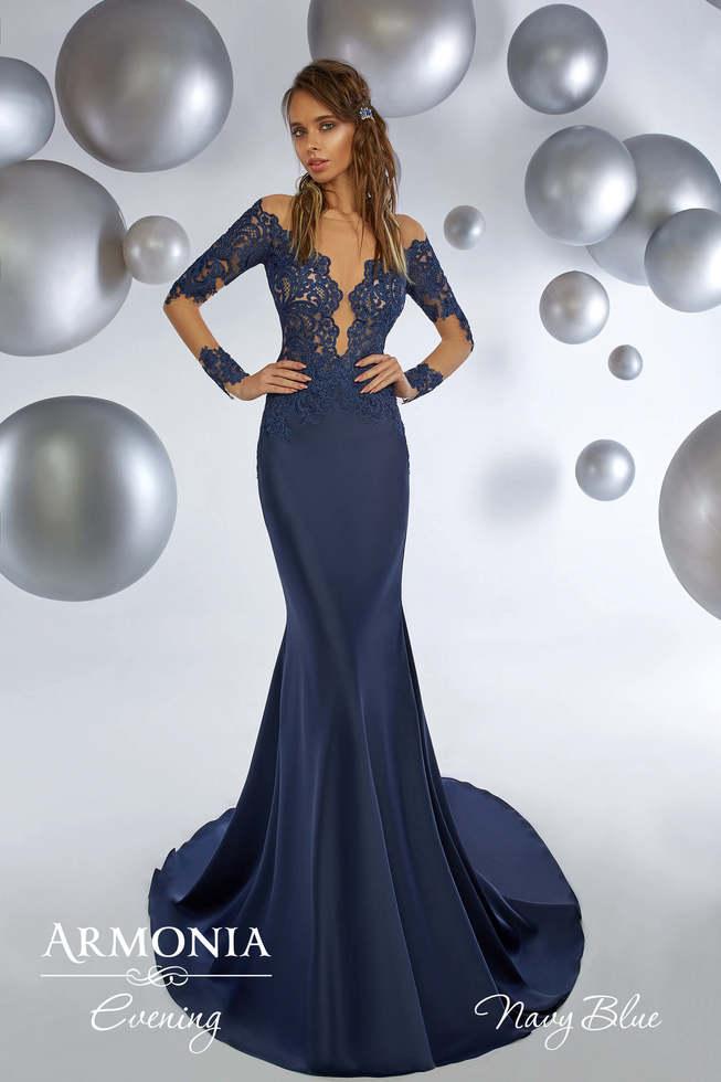 Вечернее платье NAVY BLUE